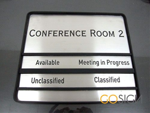 Door Sign Stainless