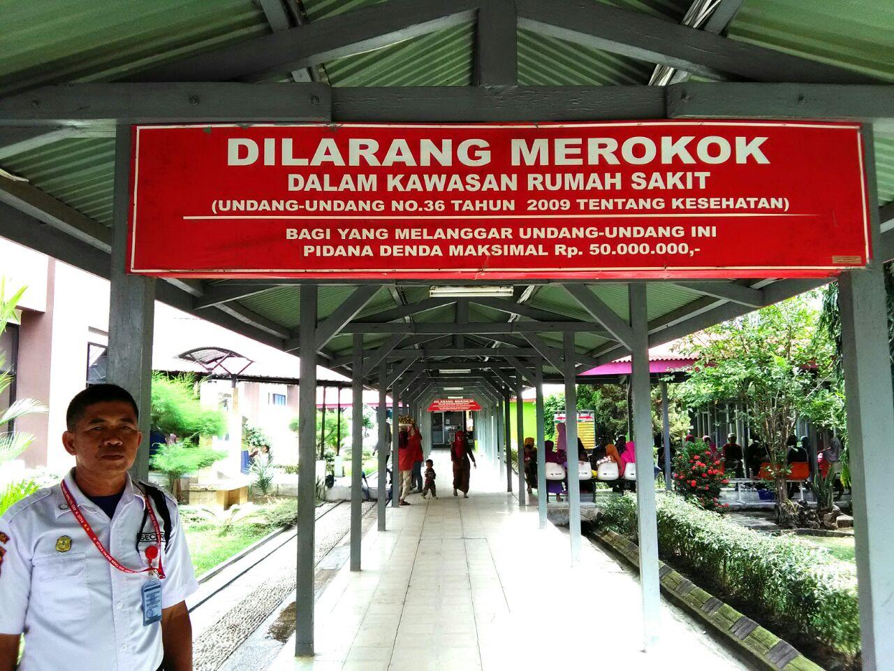dilarang merokok di rumah sakit