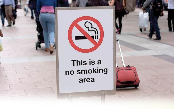 Dilarang merokok di tempat umum